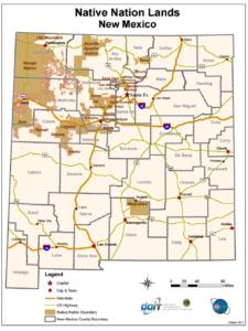 NM Native Nation Lands